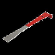 Стамеска-цвяхосмик 260мм червона,нержавіюча сталь