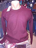 Мужской свитер-пуловер Турция,шерсть.М-л-хл.3 цвета