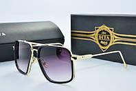Солнцезащитные очки квадратные Dita Von черные