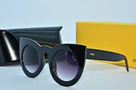 Солнцезащитные очки  Fendi черные , фото 1