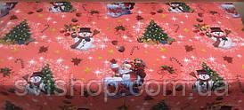 Скатерть-клеёнка новогодняя  100*137