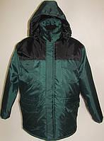 Куртка утепленная «Специалист» (зеленая с чорным)