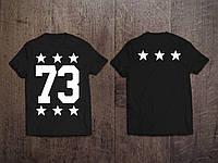 Мужская именная футболка ( Все ЦВЕТА ) №12