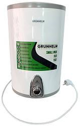 Бойлер Grunhelm GBH I-15 V монтаж над раковиною