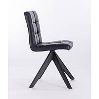 Парикмахерское кресло CHAIR HR7009 Черный, Искусственная кожа, Искусственная кожа