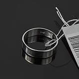 Серебряное обручальное кольцо Американка, фото 3