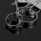 Серебряное обручальное кольцо Американка, фото 4