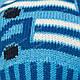 Комплект шапка и шарф для мальчика, Grans (Польша), утеплитель флис, A822F, фото 7