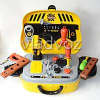 Детский набор инстрментов для мальчика в чемоданчике Delux tool Set