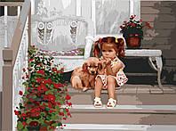 Картина по номерам В ожидании мамы, 40х50см. (MG1024, КН1024), фото 1