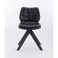 Парикмахерское кресло CHAIR HR445 Черный, Искусственная кожа