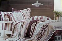 Сатиновое постельное белье семейное ELWAY 3819