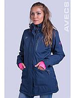 Женский горнолыжная куртка Avecs, тёмно-синий Р. XL