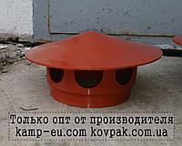 Канализационный грибок 160мм на трубу (на обрезаную трубу), фото 1
