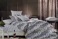 Сатиновое постельное белье семейное ELWAY 3830