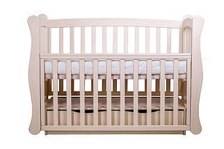 """Детская кроватка  Angelo Lux-1 Цвет """"слоновая кость"""", фото 3"""