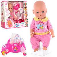 Кукла-пупс Беби Берн аналог Baby Born BB 8001-3. Функциональный набор. Быстрая доставка.