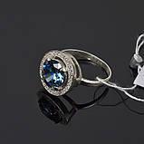 Серебряное кольцо с большим камнем, фото 2