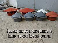 Грибок канализационный 110мм внутреный (вентиляционный ), фото 1