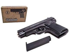 Іграшкова зброя Пістолет CYMA ZM06 метал + пластик