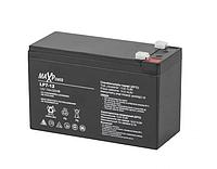 Акумуляторна батарея 12V 7Ah MaxPower