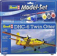 Сборная модель Revell Model Set Самолет DHC-6 Twin Otter (64901)