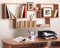 Полка книжная на стену