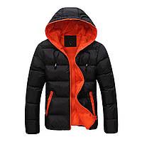 Модная мужская теплая куртка, пуховик. Осень, зима.