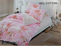Сатиновое постельное белье евро ELWAY 5061