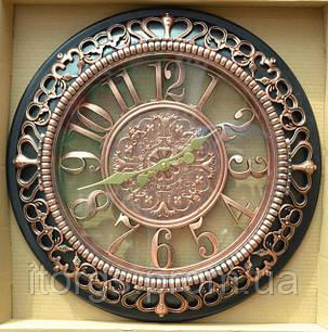 Часы настенные RL-2764 с плавным ходом 49/49см, фото 2