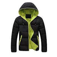 Модный молодежный пуховик, куртка. теплая, зима, осень.