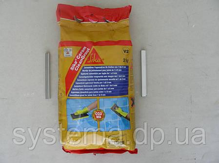 SikaCeram CleanGrout - затирка для швов в плитке, карамелевый, 2 кг, фото 2