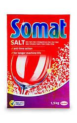 Сомат сіль 1,5кг для посудомийних машин
