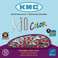 Цепь KMC X10 Vivid, 10 скоростей