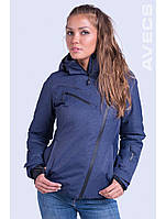 Женский горнолыжная куртка Avecs, тёмно-синий Р. 44 46 50