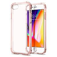Чехол Spigen для iPhone 8 Crystal Shell, Rose Crystal, фото 1