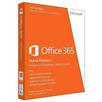 Программная продукция Microsoft Office365 Home 5 User 1 Year Subscription Russian Medialess (6GQ-00763)