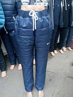 Батальные Теплые Спортивные женские штаны (ПЛАЩЕВКА+СИНТЕПОН+флис) 50-56р, доставка по Украине
