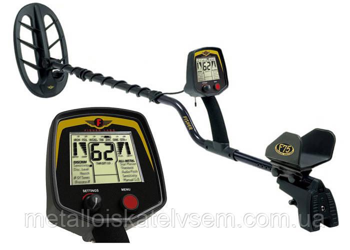 Металлоискатель fisher f75 special edition ltd. официальные .