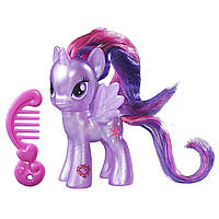 My Little Pony Глиттерная блестящая пони Принцесса Твайлайт Спаркл Искорка Princess Twilight Sparkle Doll