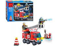 Конструктор BRICK 903 Пожарная тревога, 130 дет