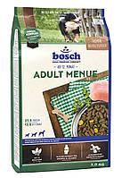 Bosch Adult Menu/ Бош Едалт Меню для взрослых собак среднего и повышенного уровня активности / 15кг