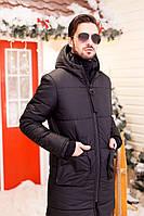 Теплое пальто мужское на синтепоне термо и водостойкая