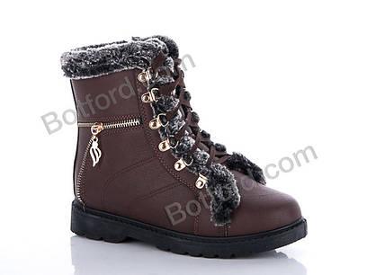 Ботинки Chengfa 501-2 brown
