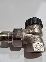 Термостатический кран HEIMEIER 1/2 угловой (Германия)