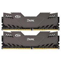 Модуль памяти для компьютера DDR4 16GB (2x8GB) 2400 MHz Dark Gray Team (TDGED416G2400HC14DC01)