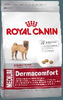 Корм для собак средних пород склонных к раздражению и зуду кожи Medium Dermacomfort, 3 кг