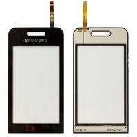 Сенсорный экран для мобильных телефонов Samsung S5230 TV, S5233, черный, Logo TV