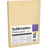 Бумага ColorWay A4 Sublimation (PSM100050A4)