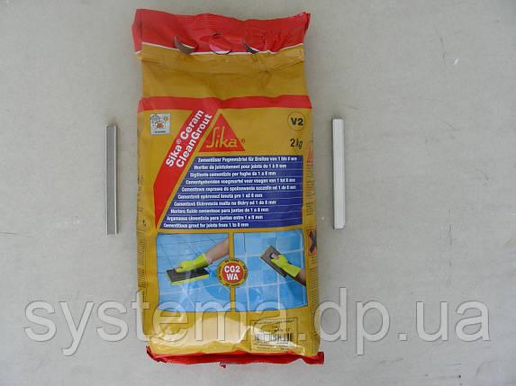 Sika®Ceram CleanGrout - затирка для швов в плитке, темно-коричневый, 5 кг, фото 2